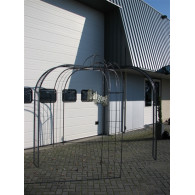rozenboog/paviljoen prieel zelfbouw systeem voorbeeld paviljoen 7 blank