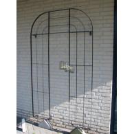 rozenboog/paviljoen prieel zelfbouw systeem voorbeeld wandrek 3 blank