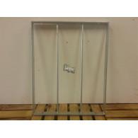 rozenboog/paviljoen prieel zelfbouw systeem staander 40x50x3 gegalvaniseerd