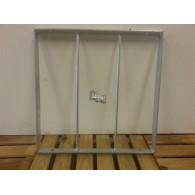 rozenboog/paviljoen prieel zelfbouw systeem staander 40x40x3 gegalvaniseerd