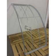 rozenboog/paviljoen prieel zelfbouw systeem staander gebogen 90 graden 40x70x3 gegalvaniseerd
