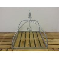 rozenboog/paviljoen prieel zelfbouw systeem koepel vierkant 40x40x42 gegalvaniseerd