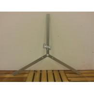 rozenboog/paviljoen prieel zelfbouw systeem koppel strip driekant gegalvaniseerd