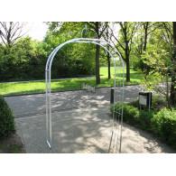 rozenboog/paviljoen prieel zelfbouw systeem voorbeeld rozenboog 4 gegalvaniseerd