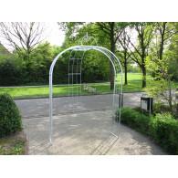 rozenboog/paviljoen prieel zelfbouw systeem voorbeeld rozenboog 5 gegalvaniseerd