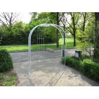 rozenboog/paviljoen prieel zelfbouw systeem voorbeeld rozenboog 6 gegalvaniseerd