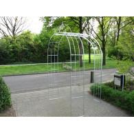 rozenboog/paviljoen prieel zelfbouw systeem voorbeeld rozenboog 7 gegalvaniseerd