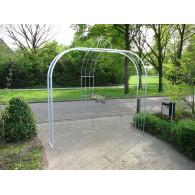 rozenboog/paviljoen prieel zelfbouw systeem voorbeeld rozenboog 8 gegalvaniseerd