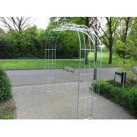 rozenboog/paviljoen prieel zelfbouw systeem voorbeeld rozenboog 9 gegalvaniseerd