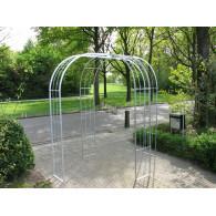 rozenboog/paviljoen prieel zelfbouw systeem voorbeeld paviljoen 8 gegalvaniseerd
