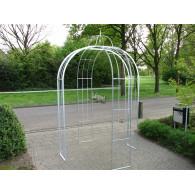 rozenboog/paviljoen prieel zelfbouw systeem voorbeeld paviljoen 1 gegalvaniseerd