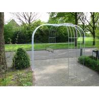 rozenboog/paviljoen prieel zelfbouw systeem voorbeeld paviljoen 3 gegalvaniseerd