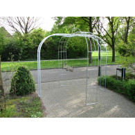 rozenboog/paviljoen prieel zelfbouw systeem voorbeeld paviljoen 4 gegalvaniseerd