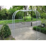 rozenboog/paviljoen prieel zelfbouw systeem voorbeeld rozenboog 10 gegalvaniseerd