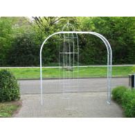 rozenboog/paviljoen prieel zelfbouw systeem voorbeeld rozenboog 11 gegalvaniseerd