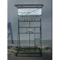 display (leeg) voor rozenboog/paviljoen zelfbouw systeem met dak gegalvaniseerd