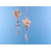 hanger hart hout 36 cm lang