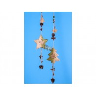 hanger hout boom en ster 2 assortiment design 70 cm lang op=op