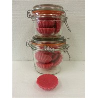 schijfjes van 100% koolzaadwas voor geurbrander roos