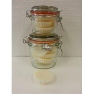 schijfjes van 100% koolzaadwas voor geurbrander vanille