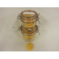 schijfjes van 100% koolzaadwas voor geurbrander 5 stuks in wekpot sinaasappel