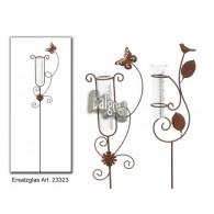 regenmeter vogel en vlinder bruin 2 assortiment design lang 1 meter
