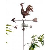 tuinsteker windwijzer weerhaan lang 180 cm