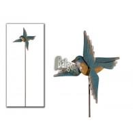 steker vogel met draaiende vleugels 1.1 meter lang