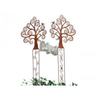 tuinsteker boom (30x37) 2 assortiment design hoog 1 meter op=op