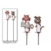 regenmeter hond en kat (30 cm) 2 assortiment design