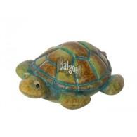 vijverdecoratie keramiek schildpad