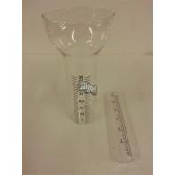 losse glazen voor regenmeter groot
