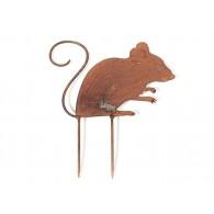 steker muis hoog 12 cm