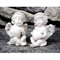 engel met hart polystone 2 assortiment design hoog 11 cm