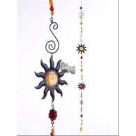 hanger zon van metaal en acryl lang 140 cm