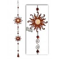 hanger zon en klokje van metaal en acryl lang 75 cm