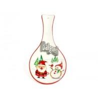 kerst lepel keramiek om op te hangen 24 cm lang op=op
