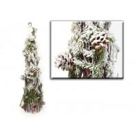kerstboom natuur 86 cm hoog op=op