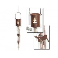 theelicht hanger dennenboom van metaal 65 cm op=op