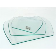 schaal van glas clarice 19x15 op=op