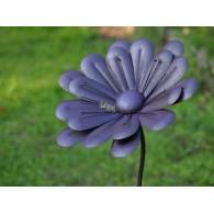 tuinsteker bloem paars hoog 1.75 meter rond 45 cm op=op
