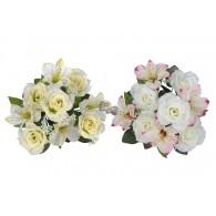 bloem boeket gemengd 30x22x22 cm 2 assortiment design op=op