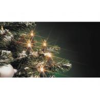 kerst snoer binnen 10 lampen wit op=op
