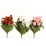 bloemen boeket rozen kunst 3 assortiment kleur