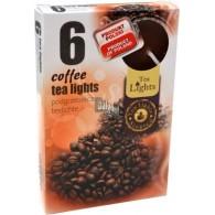 theelicht geur 18x40 box a 6 pc koffie