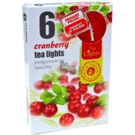 theelicht geur 18x40 box a 6 pc cranberry