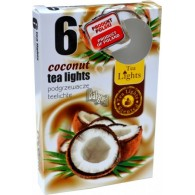 theelicht geur 18x40 box a 6 pc coconut