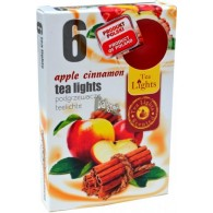 theelicht geur 18x40 box a 6 pc apple cinnemon