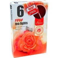theelicht geur 18x40 box a 6 pc roos