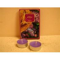 theelicht geur 18x40 box a 6 pc lilac
